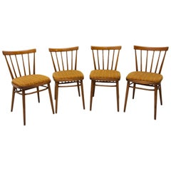 Midcentury Dining Chairs Designed by J. Kobylka, 1960s, Set of Four