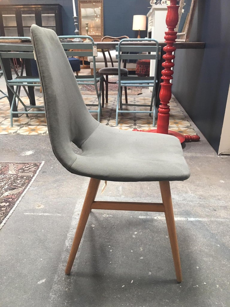 Midcentury Dining Chairs In Good Condition For Sale In Los Angeles, CA