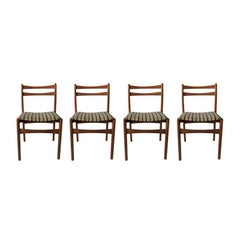 Midcentury Dining Chairs for Strand, 1970s, Set of 4