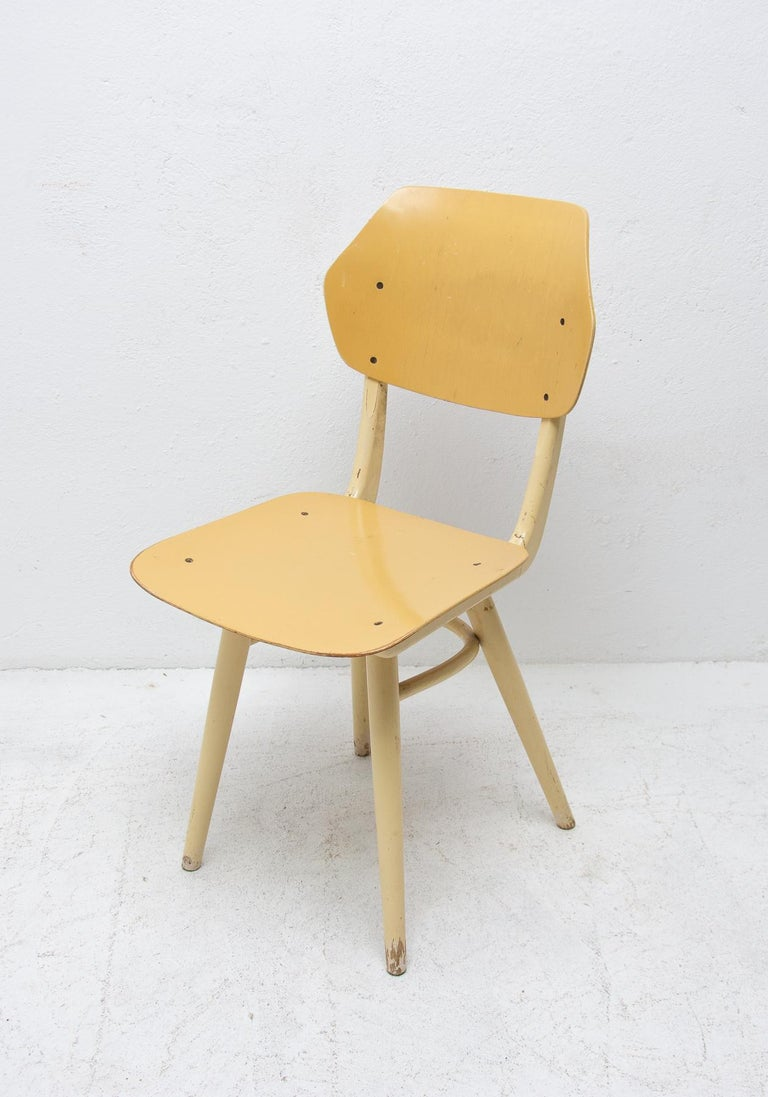Midcentury Dining Chairs TON, Set of Four, 1960s For Sale 4