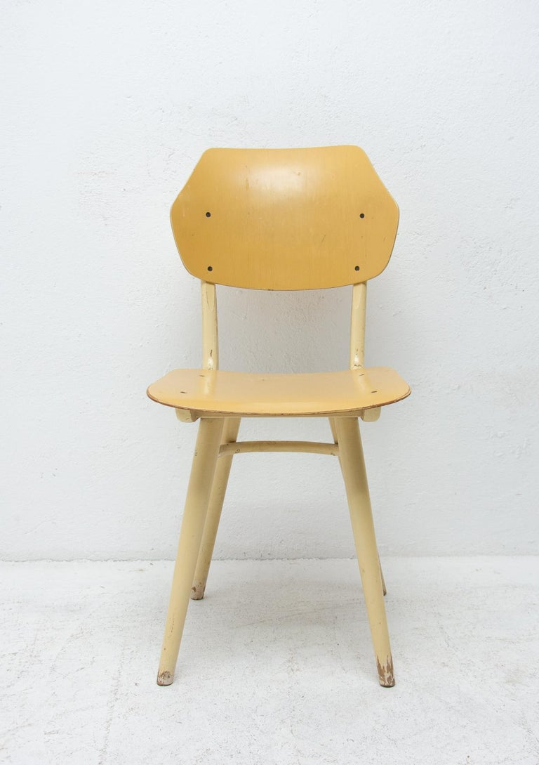 20th Century Midcentury Dining Chairs TON, Set of Four, 1960s For Sale