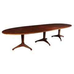 Mid Century Dining Table by Andrew J Milne 1954