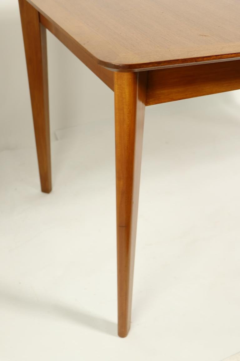 Veneer Mid Century Dining Table by Gimson and Slater For Sale