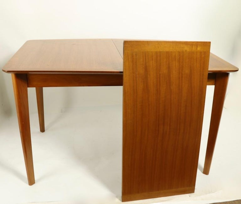 Walnut Mid Century Dining Table by Gimson and Slater For Sale