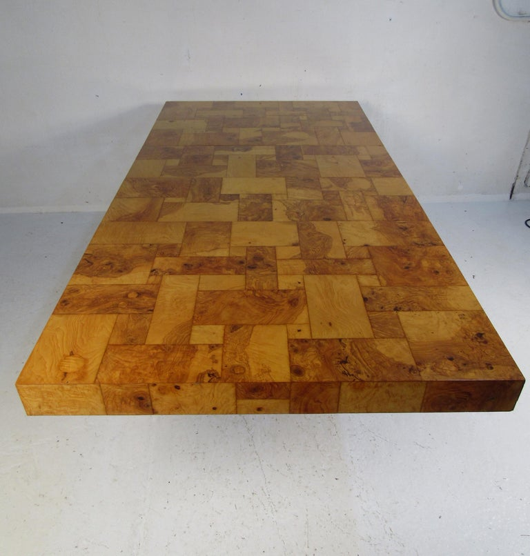 Midcentury Dining Table by Paul Evans for Directional In Good Condition For Sale In Brooklyn, NY