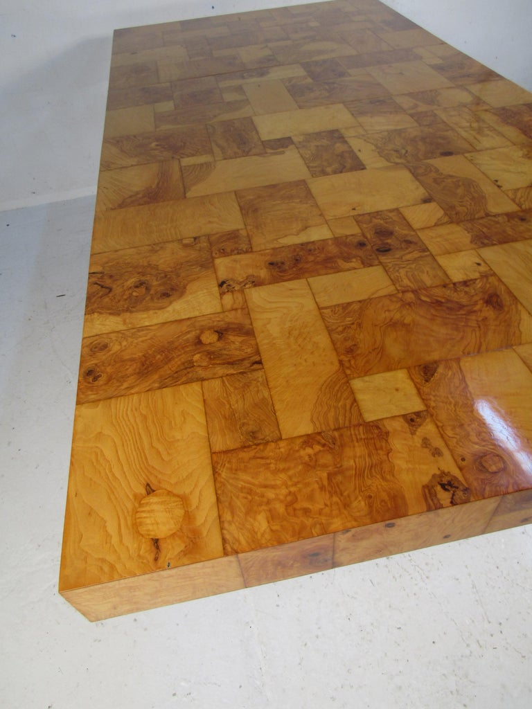 Midcentury Dining Table by Paul Evans for Directional For Sale 1
