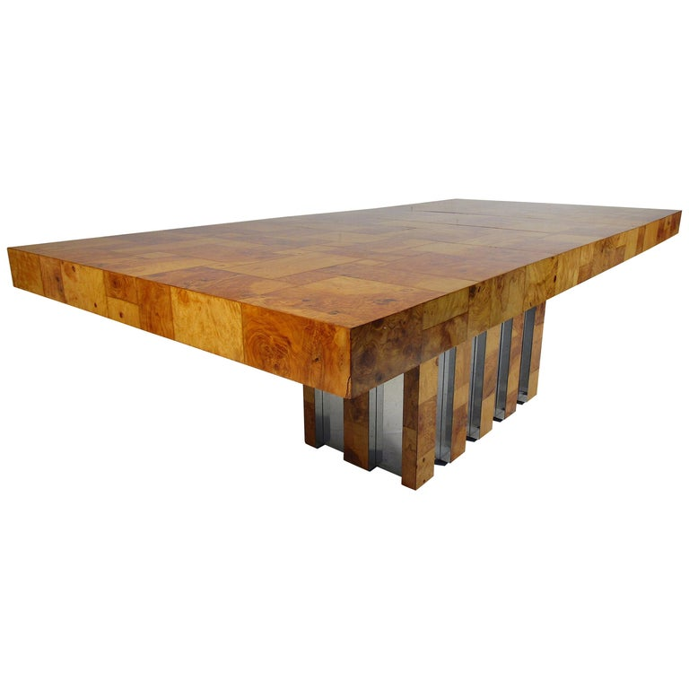 Midcentury Dining Table by Paul Evans for Directional For Sale