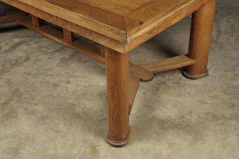 Mid-Century Dining Table from France, circa 1950 In Good Condition For Sale In Nashville, TN