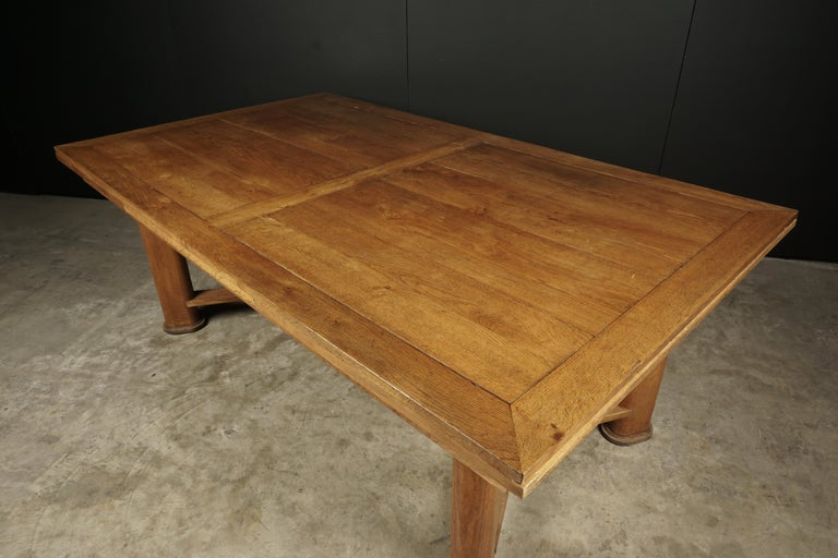 Mid-Century Dining Table from France, circa 1950 For Sale 1