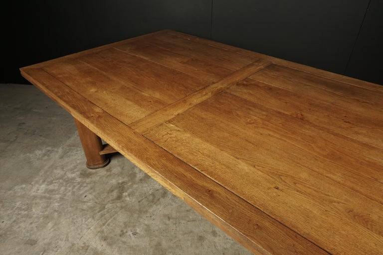 Mid-Century Dining Table from France, circa 1950 For Sale 2
