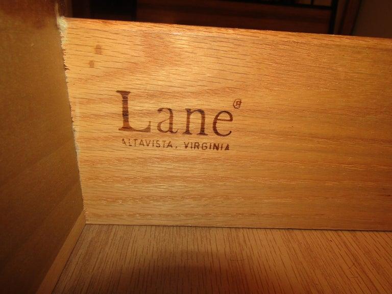 Veneer Midcentury Dresser by Lane For Sale