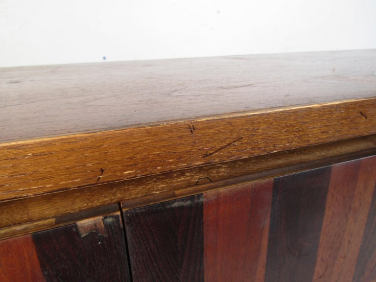 Chrome Midcentury Dresser by Lane For Sale