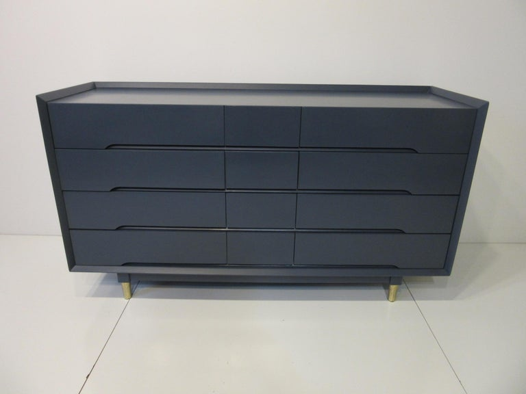 Midcentury Dresser / Chest from the Beverley Hills Ensemble by T. Walczer For Sale 3