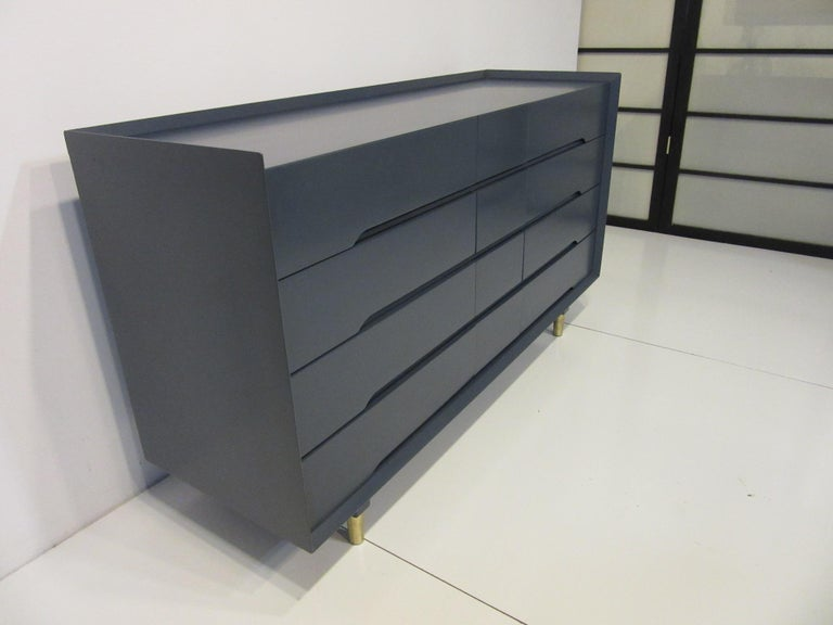 Mid-Century Modern Midcentury Dresser / Chest from the Beverley Hills Ensemble by T. Walczer For Sale