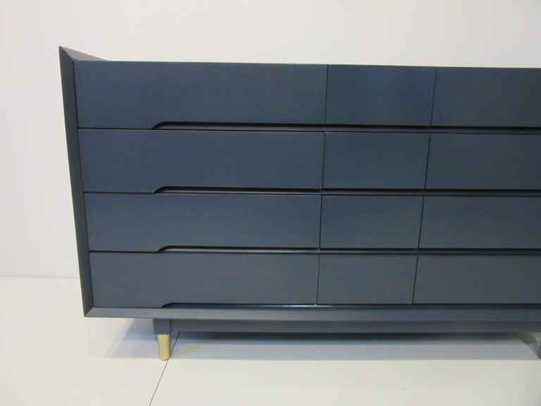 20th Century Midcentury Dresser / Chest from the Beverley Hills Ensemble by T. Walczer For Sale
