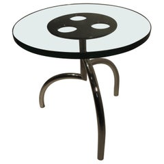"Mid Century Modern Side End ""Spyder Table"" by Stanley Friedman for Brueton"