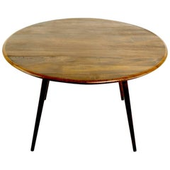 Mid Century Drop Leaf Dining Table by Lucien Ercolani for Ercol
