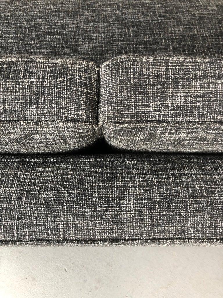 Midcentury Dunbar Style Sofa with 10 Legs For Sale 5