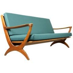 Midcentury Dutch Design Sofa for De Ster Gelderland, 1950s