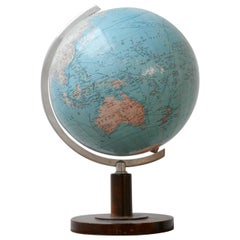 Midcentury Dutch Desk Globe