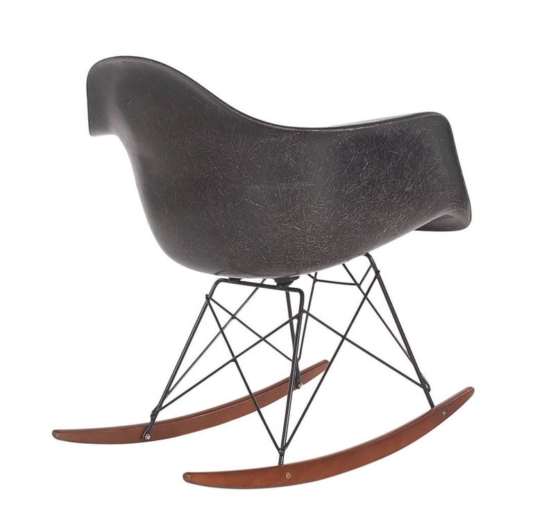 Midcentury Eames For Herman Miller Fiberglass Rocking