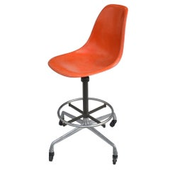 Midcentury Eames Herman Miller Drafting Stool
