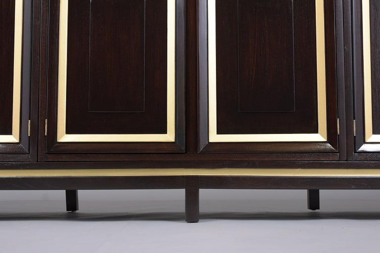 Mid-Century Modern Ebonized Credenza For Sale 3