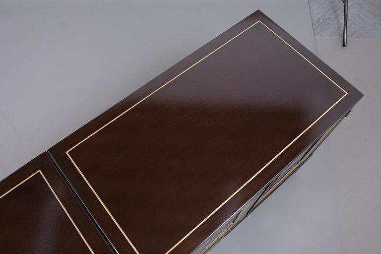 Mid-Century Modern Ebonized Credenza For Sale 7
