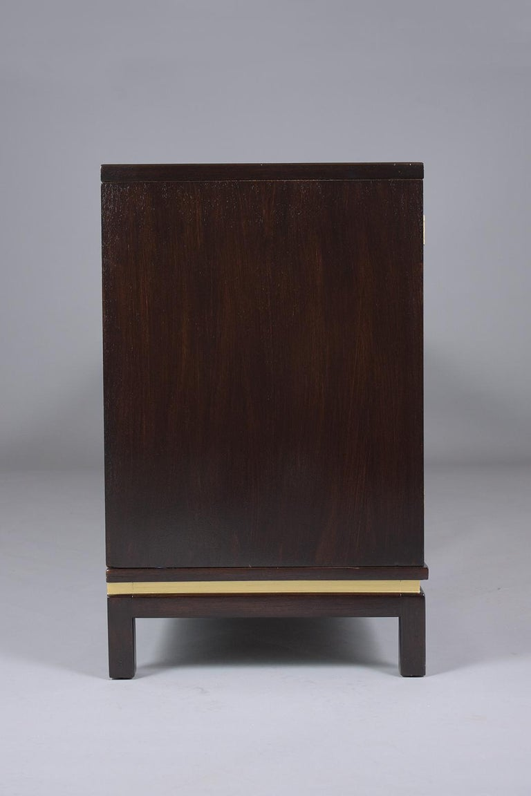 Mid-Century Modern Ebonized Credenza For Sale 10