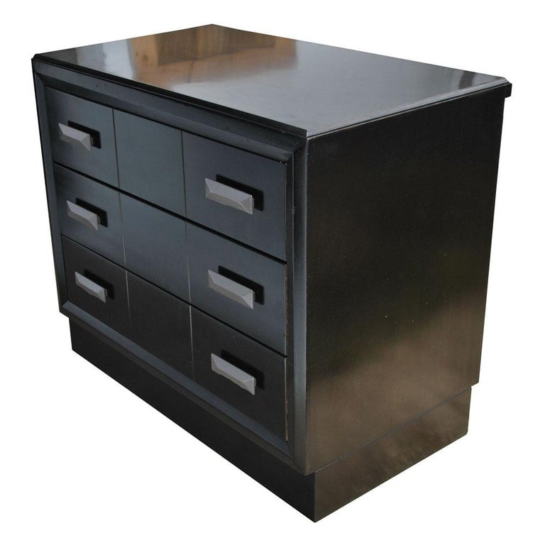 Midcentury Raymond Loewy style dresser chest