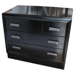 Midcentury Ebonized Mengel Raymond Loewy Style Dresser