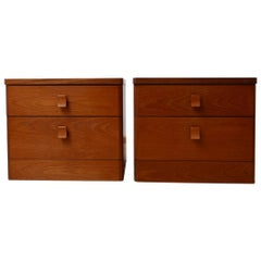 Midcentury English Bedside Drawers