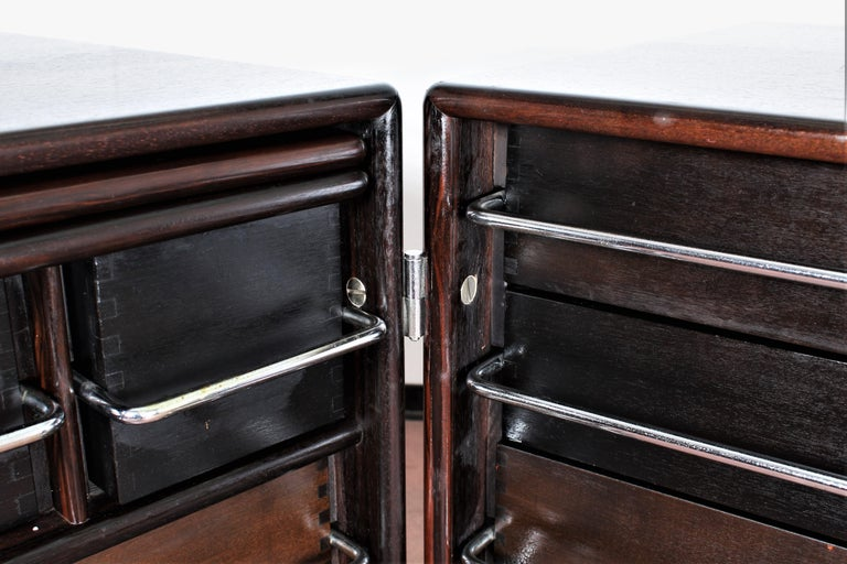 Mid-Century F. Lenci Bernini Chest of Drawers with Dressing Table, Italy 70s For Sale 5