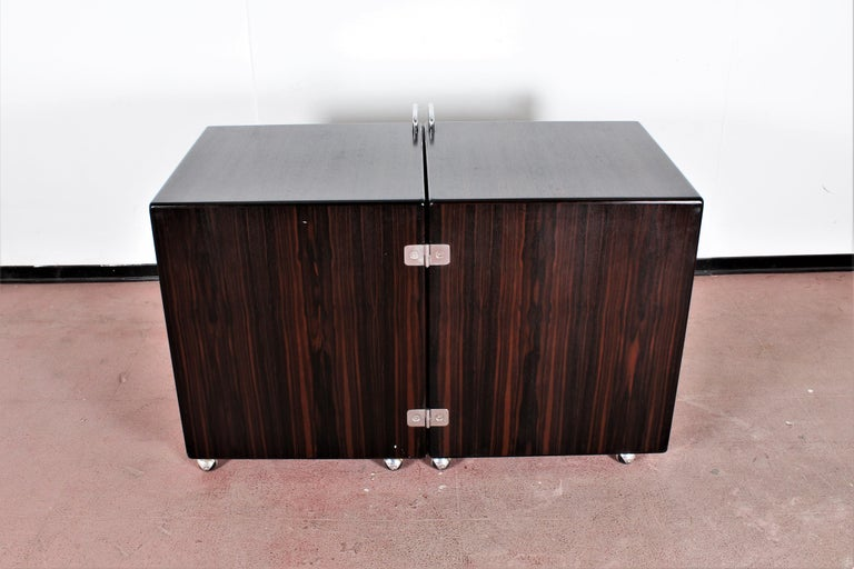 Mid-Century F. Lenci Bernini Chest of Drawers with Dressing Table, Italy 70s For Sale 7