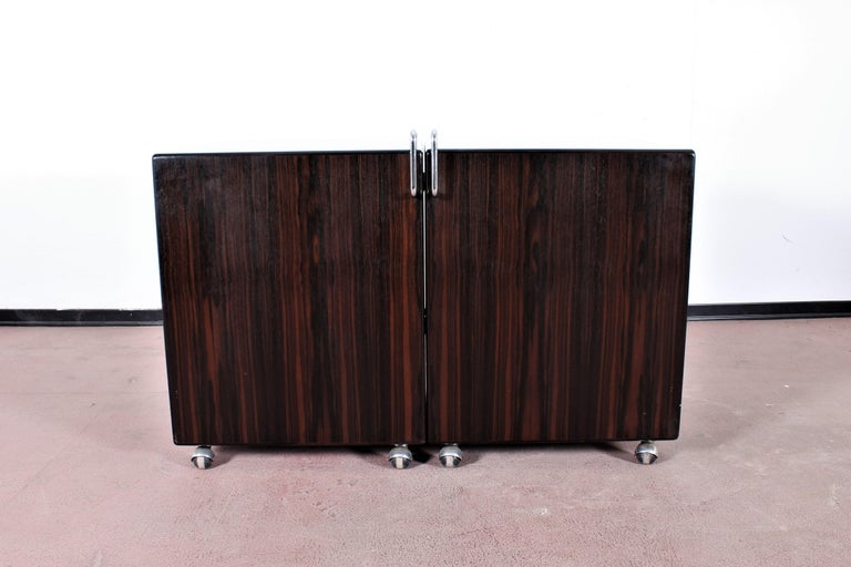 Mid-Century Modern Mid-Century F. Lenci Bernini Chest of Drawers with Dressing Table, Italy 70s For Sale
