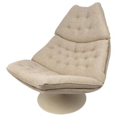 Mid Century F588 Lounge Chair by Geoffrey Harcourt for Artifort, 1960s