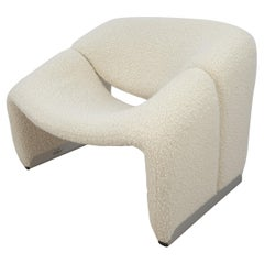 Mid Century F598 Groovy Chair by Pierre Paulin for Artifort, 1980s