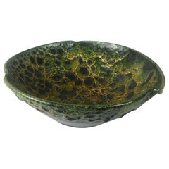 Mid-Century Fat Lava Studio Bowl by Charles Cart, 1960s
