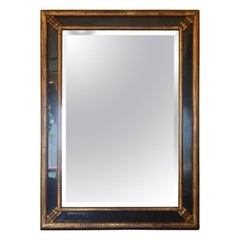 Midcentury Faux Bamboo Mirror