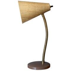 Mid Century Fiberglass Desk Task Lamp