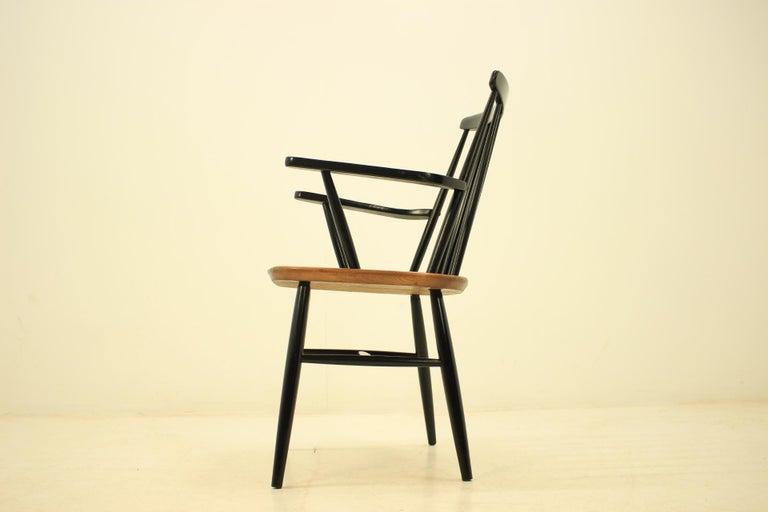 Midcentury Finnish armchair, Ilmari Tapiovaara, 1960s. Very confortable.