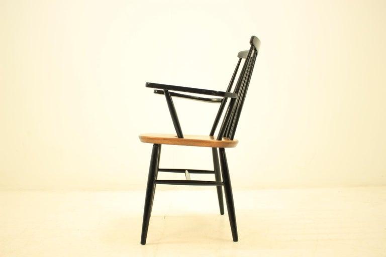 Mid-Century Modern Mid Century Finnish Armchair, Ilmari Tapiovaara, 1960s For Sale