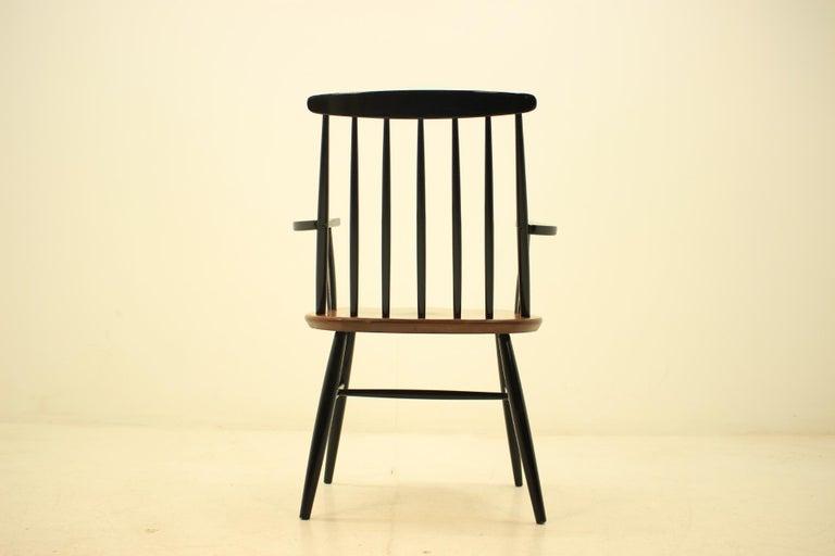 Mid-20th Century Mid Century Finnish Armchair, Ilmari Tapiovaara, 1960s For Sale