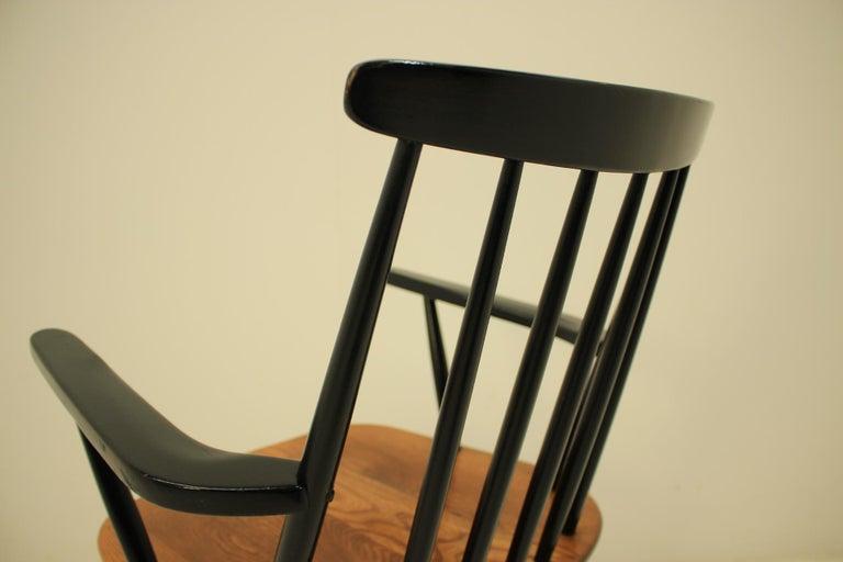 Mid Century Finnish Armchair, Ilmari Tapiovaara, 1960s For Sale 2