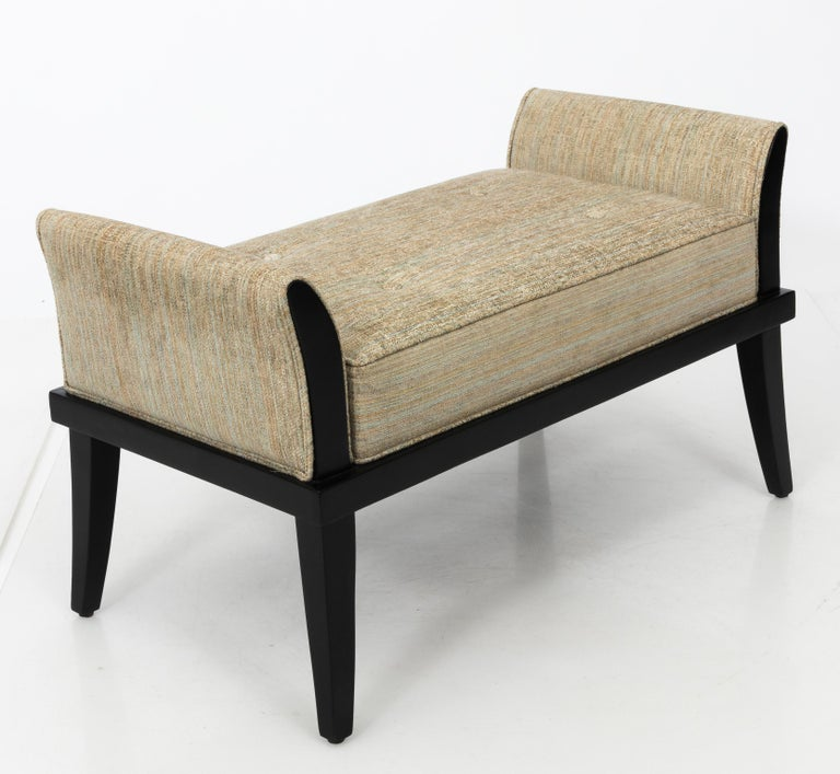Mid-Century Modern Mid Century Flared Armed Bench For Sale