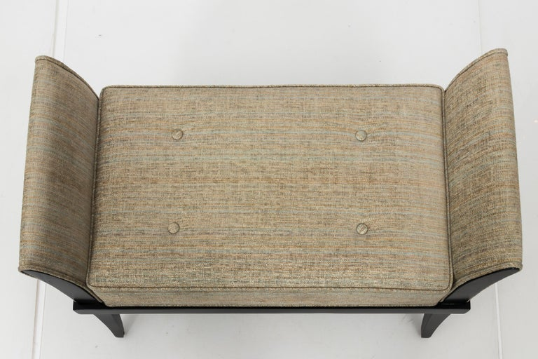 Mid-20th Century Mid Century Flared Armed Bench For Sale