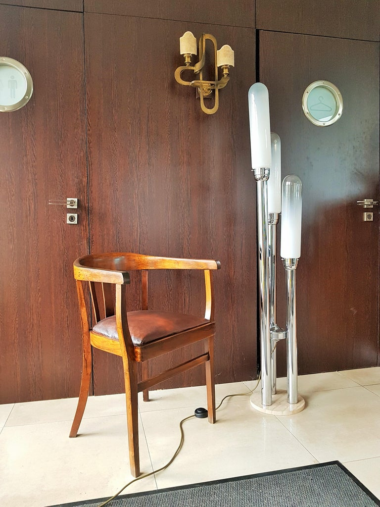 Midcentury Floor lamp by Carlo Nason for Mazzega, Italy, 1960s For Sale 8