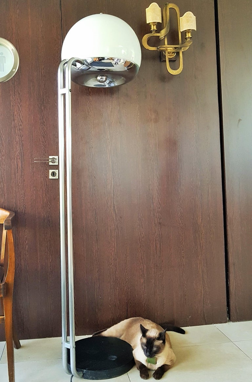 Mid-Century Floor Lamp Reggiani, Italy, 1960s For Sale 10