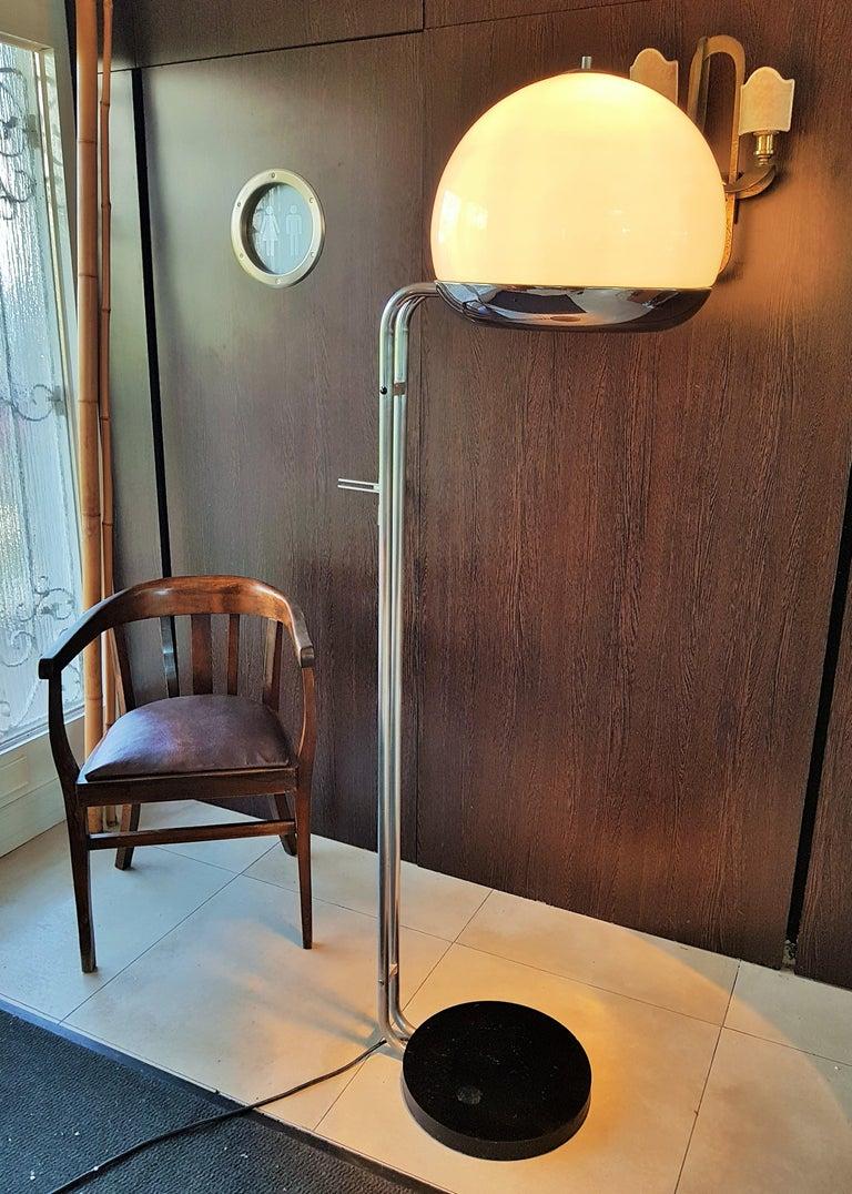 Mid-Century Modern Mid-Century Floor Lamp Reggiani, Italy, 1960s For Sale