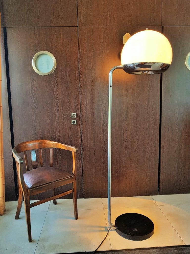 Italian Mid-Century Floor Lamp Reggiani, Italy, 1960s For Sale